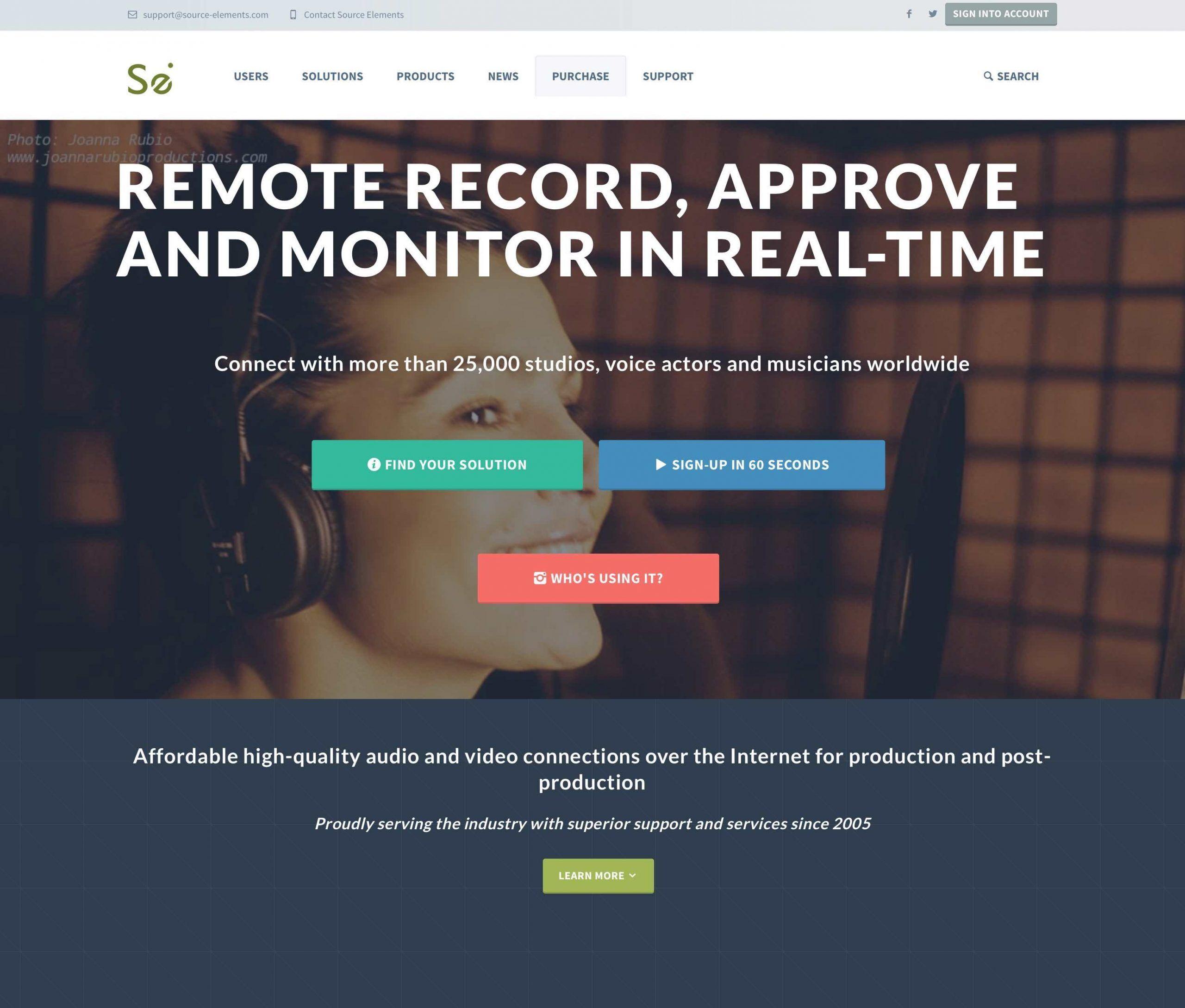 locutora online estudio propio freelance